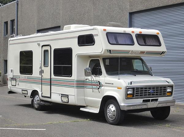 1989 Jayco Designer 26 Class C Motorhome Rv For Sale In
