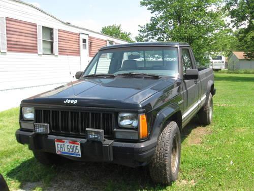 1989 jeep comanche truck eliminator for sale in hamilton ohio classified. Black Bedroom Furniture Sets. Home Design Ideas
