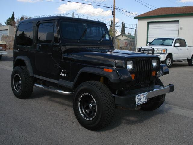 1989 jeep wrangler 4wd for sale in el paso texas classified. Black Bedroom Furniture Sets. Home Design Ideas