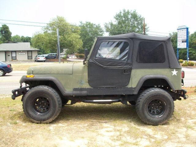 1989 jeep wrangler for sale in fayetteville north carolina classified. Black Bedroom Furniture Sets. Home Design Ideas