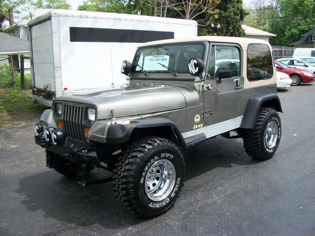 1989 jeep wrangler sahara for sale in plymouth michigan. Black Bedroom Furniture Sets. Home Design Ideas