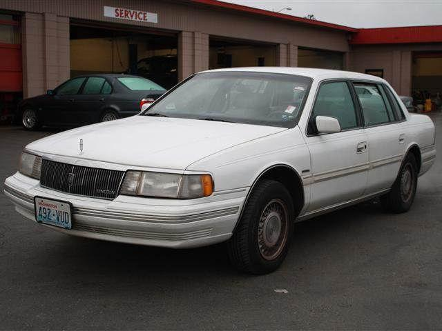 1989 Lincoln Continental Signature for Sale in Burien, Washington ...