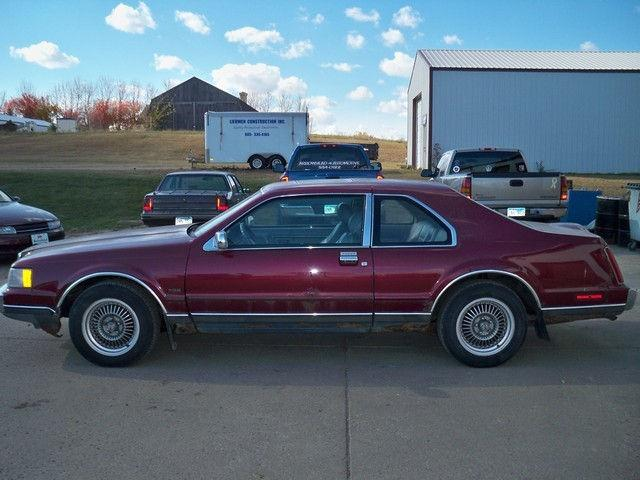 1989 Lincoln Mark Vii Lsc For Sale In Sioux Falls South