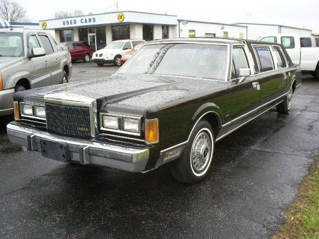 1989 lincoln town car for sale in wauseon ohio classified. Black Bedroom Furniture Sets. Home Design Ideas