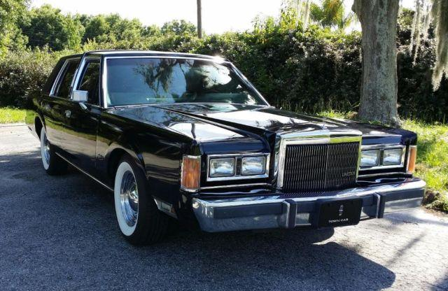 1989 Lincoln Town Car For Sale In Yalaha Florida Classified