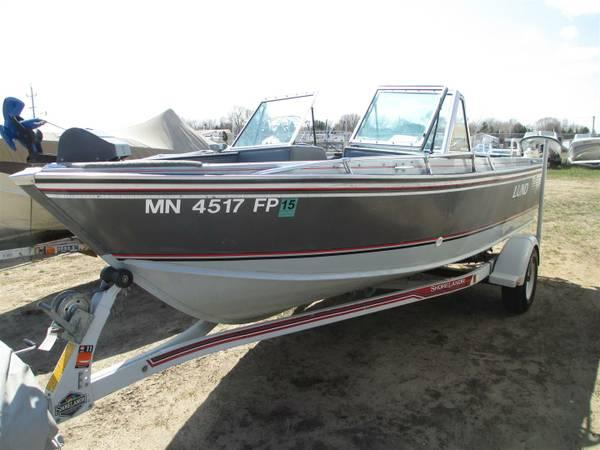 1989 Lund Tyee 1850 W 4 3l Mercruiser I O For Sale In