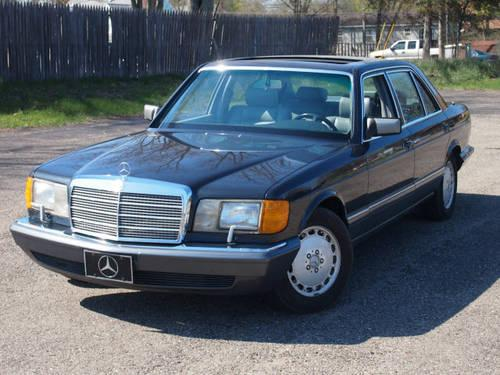 1989 mercedes benz 420 sedan sel for sale in jackson for Mercedes benz bloomfield mi