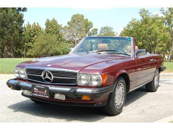 1989 mercedes benz 560sl for sale in inglewood california