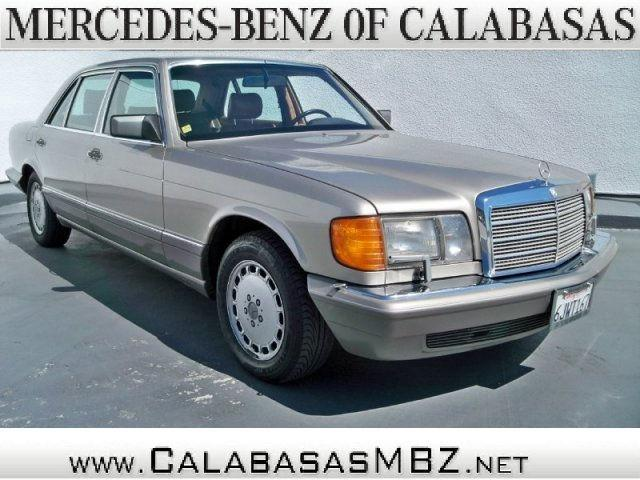1989 mercedes benz s class 560sel for sale in calabasas for Mercedes benz of calabasas
