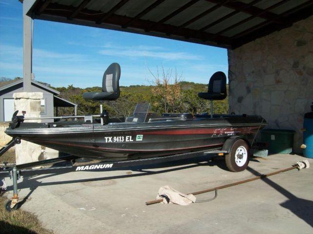1989 Stryker 15 Boat Amp Magnum Trailer Completely