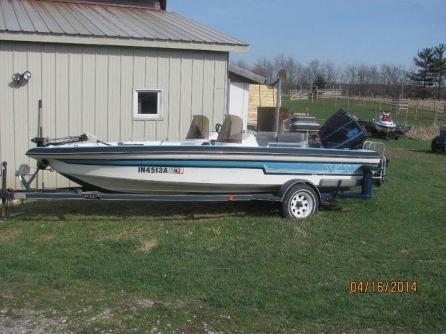 Buy Here Pay Here Indiana >> 1989 VIP 17.5 FT BASS/SKI BOAT 125 HP FORCE OUTBOARD for Sale in Ege, Indiana Classified ...