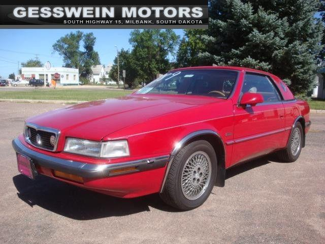 1989 chrysler tc by maserati for sale in milbank south dakota. Cars Review. Best American Auto & Cars Review
