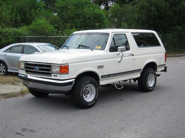 1989 ford bronco for sale in north charleston south carolina classified. Black Bedroom Furniture Sets. Home Design Ideas