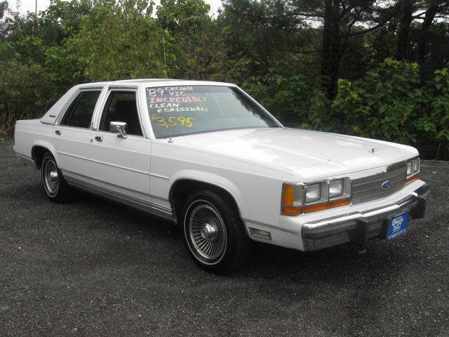 1989 Ford Ltd Crown Victoria Lx For Sale In Waterbury