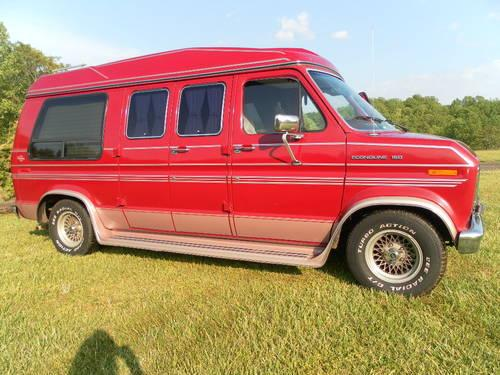 1990 150 Ford Conversion Van 78K Mi For Sale In Cascade Virginia