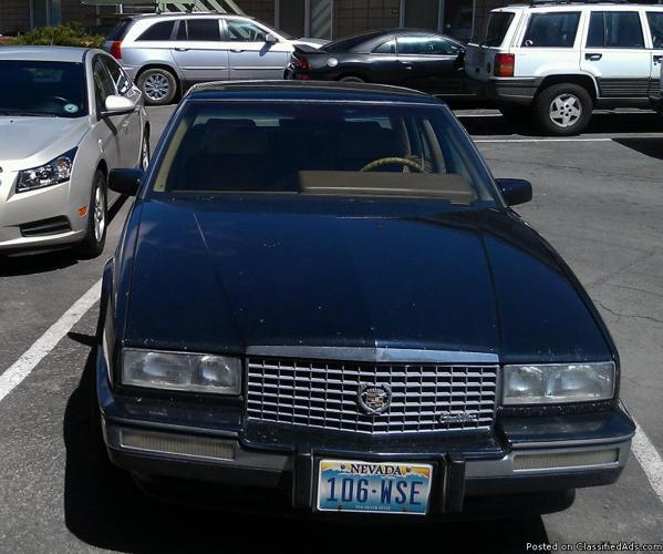 1990 Cadillac Seville STS For Sale In Reno, Nevada