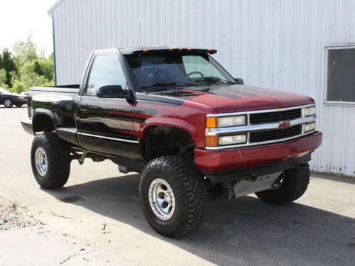 1990 Chevrolet C K 1500 Series Pickup Truck 4x4 K1500
