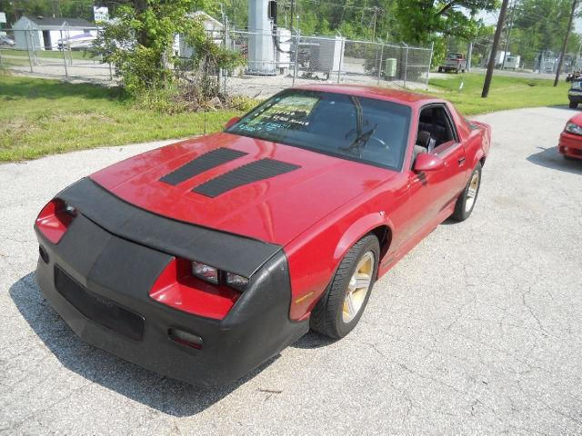 1990 chevrolet camaro iroc z for sale in cincinnati ohio classified. Black Bedroom Furniture Sets. Home Design Ideas