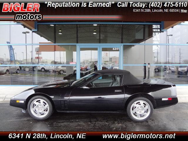 1990 Chevrolet Corvette 1990 Chevrolet Corvette 427 Trim