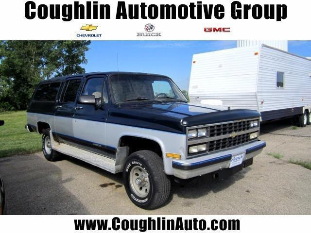 1990 chevrolet suburban 1990 chevrolet suburban car for sale in london oh 4370219960 used. Black Bedroom Furniture Sets. Home Design Ideas