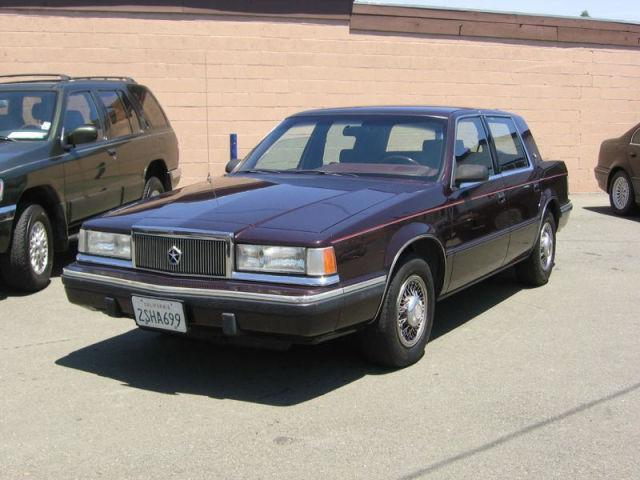 1990 chrysler new yorker salon for sale in vallejo