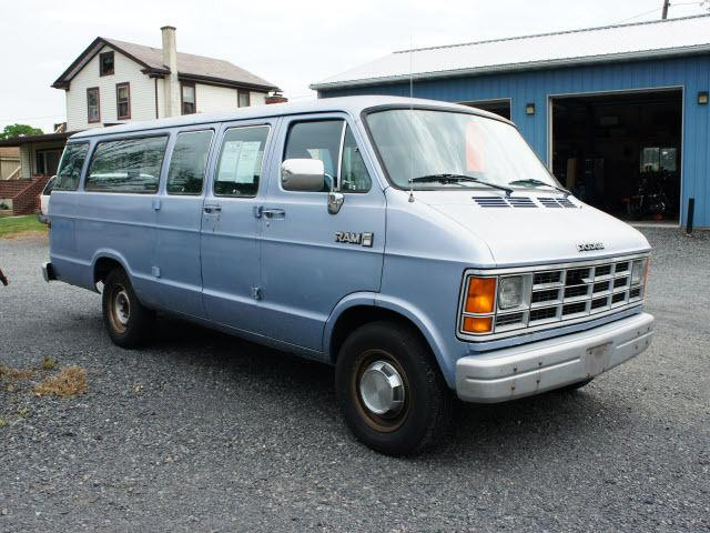 1990 dodge ram van b350 for sale in gilbertsville. Black Bedroom Furniture Sets. Home Design Ideas