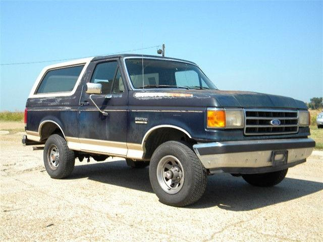 1990 Ford Bronco For Sale In Natchez Mississippi