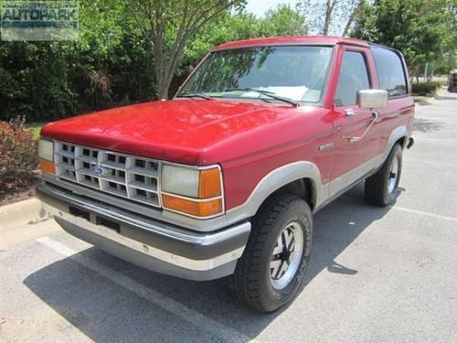 1990 ford bronco truck ii 4x4 truck for sale in fayetteville arkansas