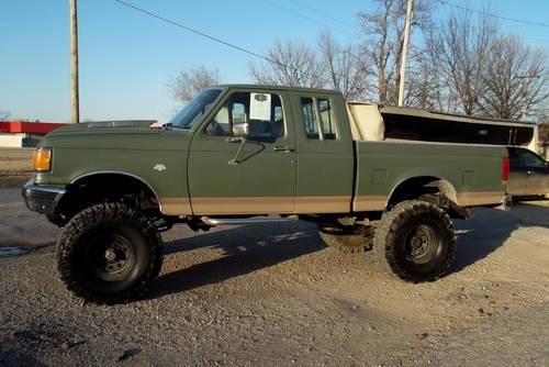 Ford extended cab Lifted Mud truck for sale in Rich Hill, Missouri