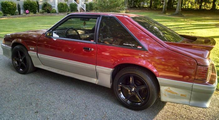 1990 ford mustang gt for sale in oxford north carolina classified. Black Bedroom Furniture Sets. Home Design Ideas