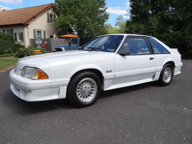 1990 ford mustang gt hatchback for sale in collegeville pennsylvania classified. Black Bedroom Furniture Sets. Home Design Ideas