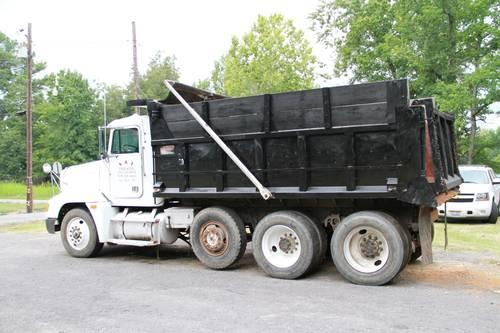 1990 freightliner fld dump truck for sale in arsenal arkansas classified. Black Bedroom Furniture Sets. Home Design Ideas