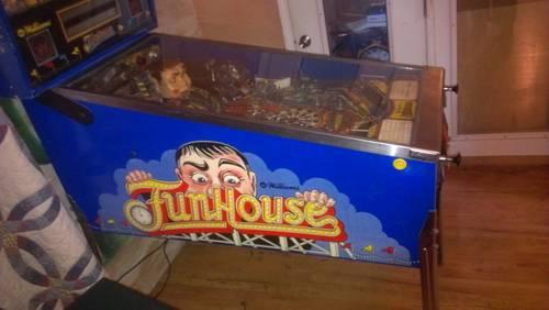 1990 Funhouse Pinball by williams