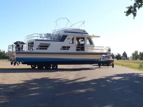 1990 Gibson Sport Series Houseboat For Sale In Sioux Falls South Dakota Classified