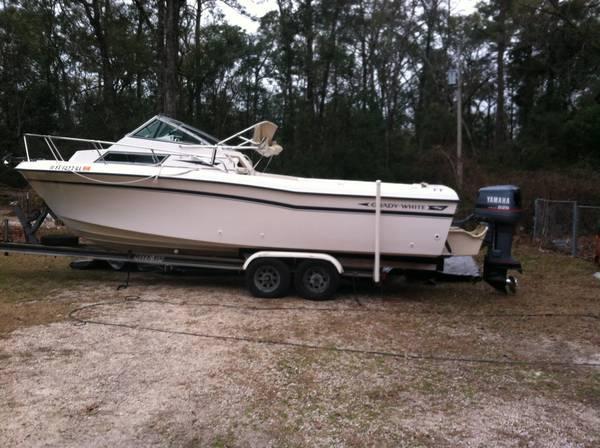 1990 Grady white offshore fishing boat - $8000
