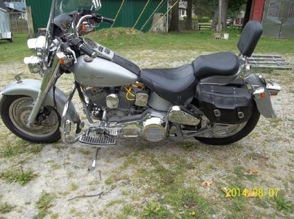 1990 Harley-Davidson Fatboy with free shipping! Silver