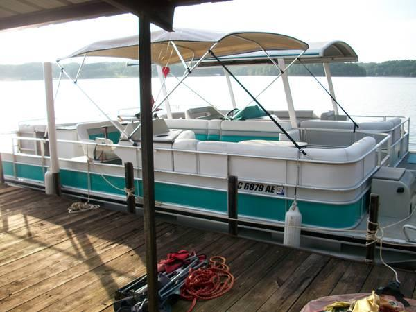 1990 Harris Flote Boat 24ft Pontoon For Sale In Anderson
