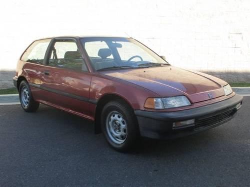 1990 honda civic hatchback 3dr hatchback dx 5 spd. Black Bedroom Furniture Sets. Home Design Ideas