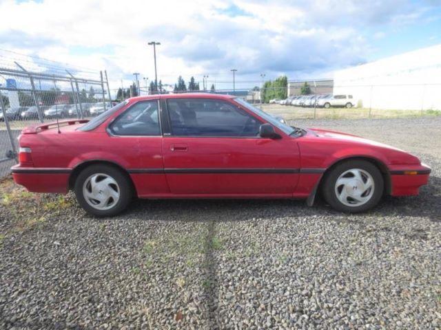 1990 honda prelude red