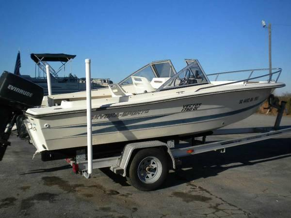 1990 hydra sports 178 vector for sale in lexington south carolina classified. Black Bedroom Furniture Sets. Home Design Ideas