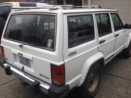 1990 jeep cherokee pioneer for sale in mount vernon washington classified. Black Bedroom Furniture Sets. Home Design Ideas