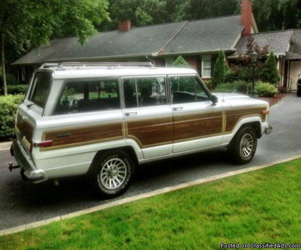 1990 jeep grand wagoneer for sale in greensboro north carolina classified. Black Bedroom Furniture Sets. Home Design Ideas
