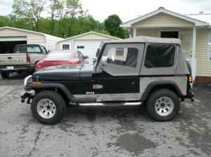 1990 jeep wrangler good title crowe 39 s auto sales rebulit wrecks for. Black Bedroom Furniture Sets. Home Design Ideas