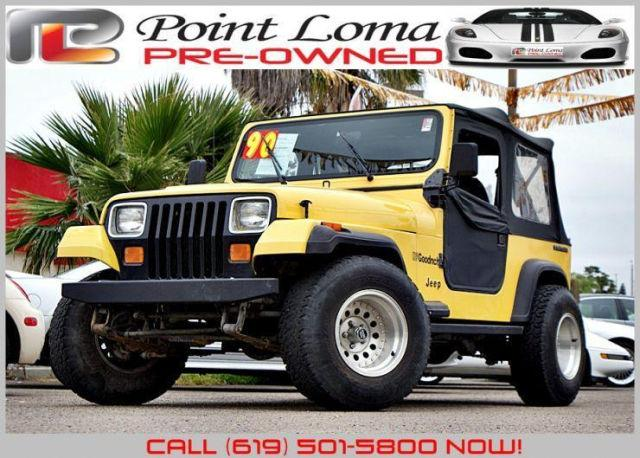 1990 jeep wrangler s for sale in san diego california classified. Black Bedroom Furniture Sets. Home Design Ideas