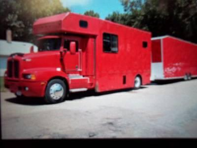 1990 Kenworth Motorhome With S S Stacker Trailer Race Car