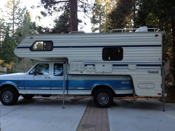 1990 Lance Cabover Camper For Sale In Susanville
