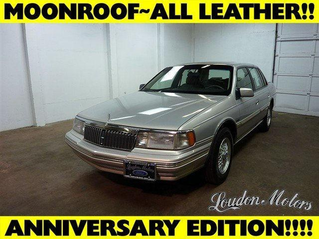 1990 lincoln continental signature for sale in alliance for Loudon motors in alliance ohio