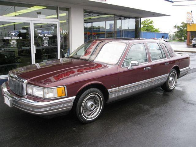 1990 lincoln town car signature for sale in lansdale pennsylvania classified. Black Bedroom Furniture Sets. Home Design Ideas