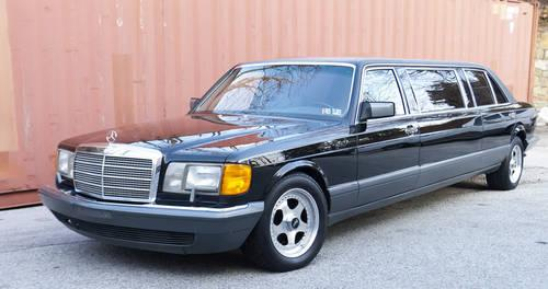 1990 Mercedes Benz 560SELLIMO For Sale In Co Bluffs Iowa