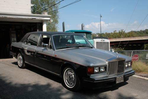 1990 Rolls Royce Silver Spur Ii Long Wheel Base For Sale